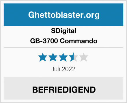 SDigital GB-3700 Commando Test