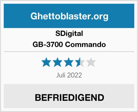 SDigital GB-3700 Commando Test