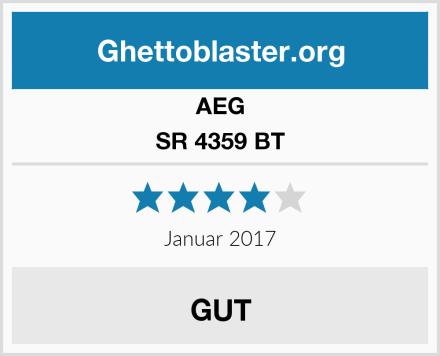 AEG SR 4359 BT Test