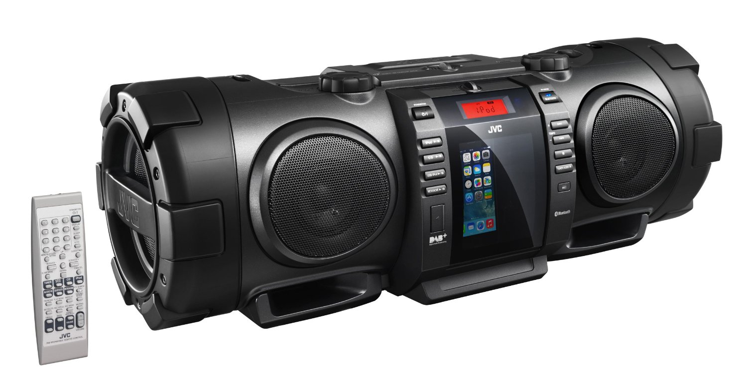 JVC RV-NB100BE BoomBlaster