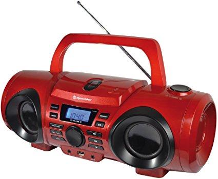Roadstar CDR-265U rot Boombox